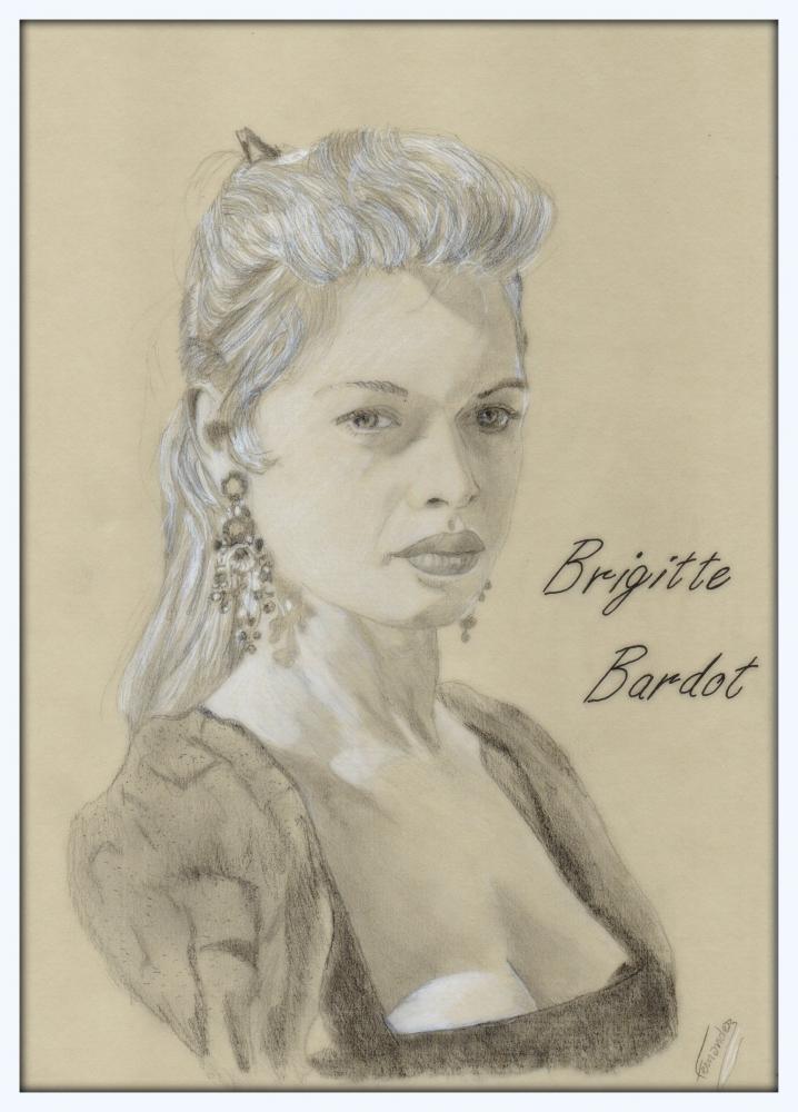 Brigitte Bardot por Clint